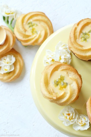 Rezept Saint Honoré Eierlikör Cupcakes