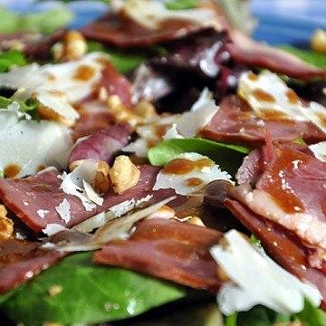 Rezept Salade de Magret de Canard fumé