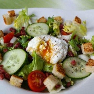 Rezept Salade lyonnaise