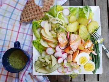 Rezept Salade nordique