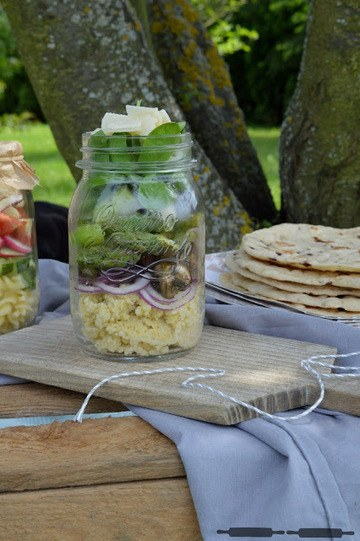 Rezept Salads in a Jar