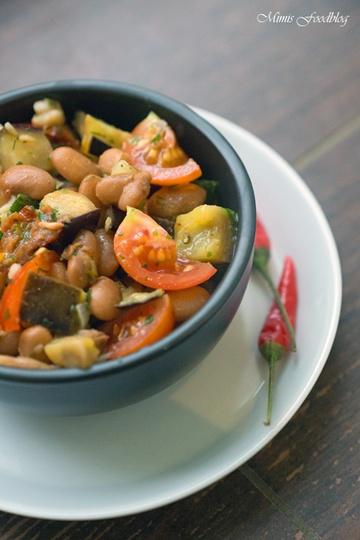 Rezept Salat aus Wachtelbohnen