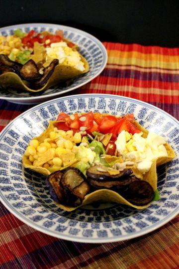 Rezept Salat im Tacokoerbchen