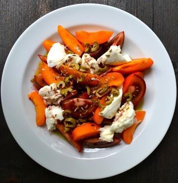 Rezept Salat mit Aprikosen & Tomaten
