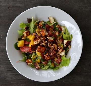 Rezept Salat mit Pomelo & Mango