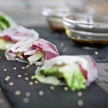 Rezept Salat-Reispapier-Röllchen