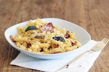 Rezept Salbei Fusilli mit Parmaschinken