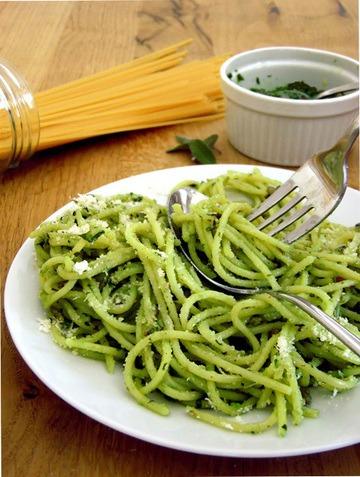 Rezept Salbei Pesto an Pasta