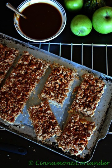 Rezept Salted Caramel Apple Pie Bars
