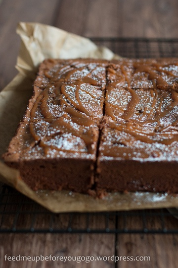 Rezept Salted Caramel Brownies