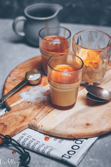 Rezept Salted Caramel Pudding