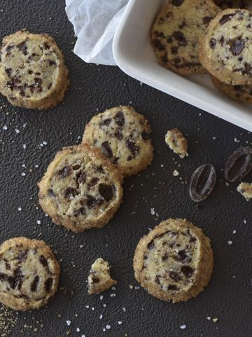 Rezept SALTED CHOCOLATE COOKIES