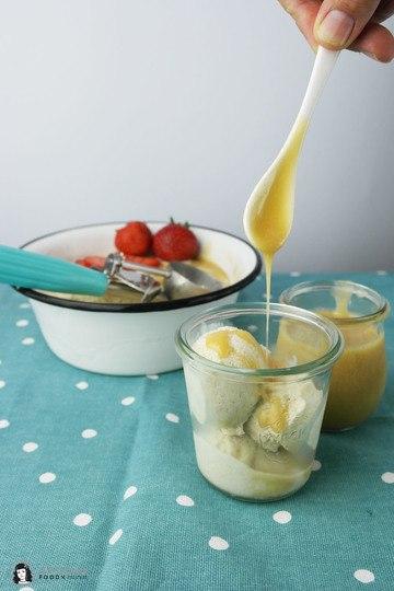 Rezept Salz-Karamell Eis