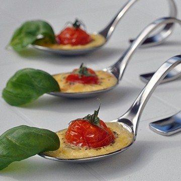Rezept Salzige Crèmes brûlées mit Tomaten