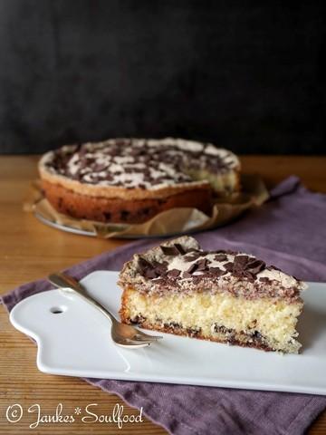 Rezept Sandkuchen mit Nuss-Baiser
