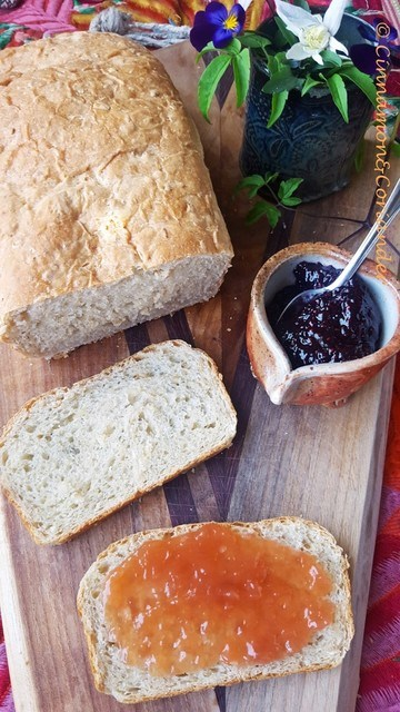 Rezept Sandwich Brot mit Kokosmilch