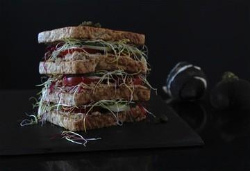 Rezept Sandwich mit Thunfisch - Creme