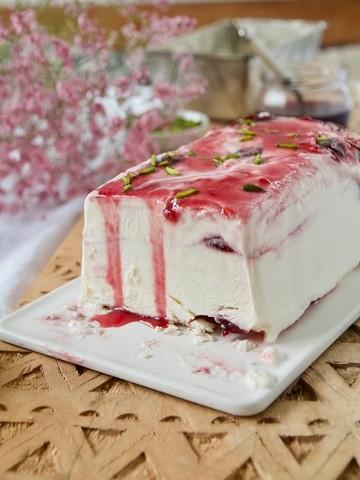Rezept Sauerkirsch-Cheesecake-Eis