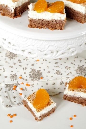 Rezept Sauerrahmschnitten mit Mandarinen