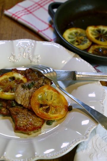 Rezept Scaloppine al limone