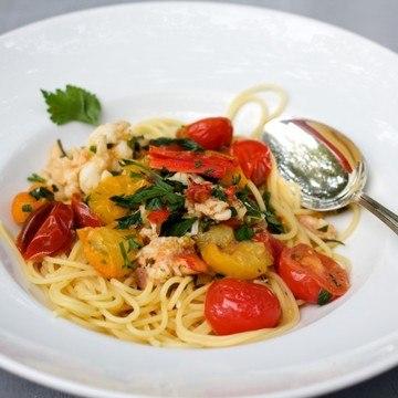 Rezept Scharfe Lobster Spaghetti