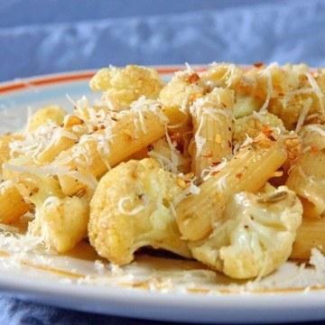 Rezept Scharfe Pasta mit Blumenkohl