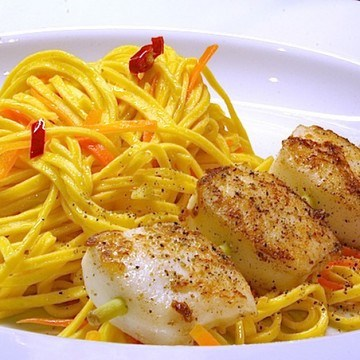 Rezept Scharfe Pasta mit Tintenfisch