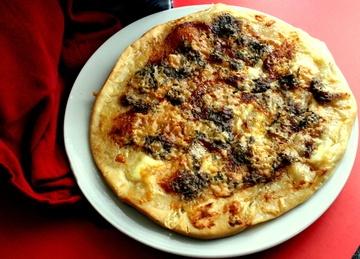 Rezept Scharfe Pizza Biancha