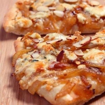 Rezept Scharfe Pizza mit Gorgonzola
