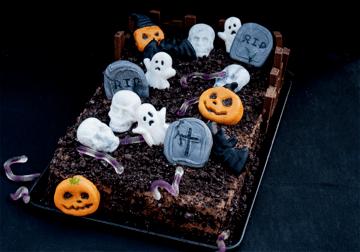 Rezept Schauriger Schokoladen-Friedhof