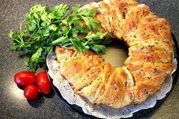 Rezept Schinken-Kaese Brot