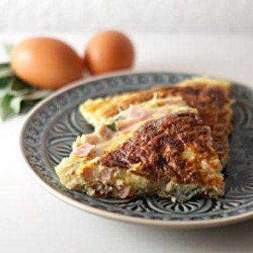Rezept Schinken-Salbei-Frittata