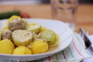 Rezept Schmorgurken mit Hackbällchen – Viel zu lange gewartet
