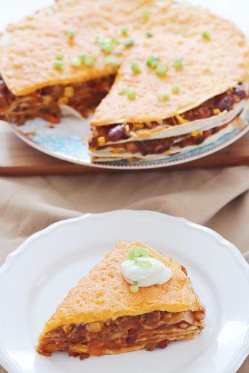 Rezept Schnell gemacht: Mexikanische Lasagne