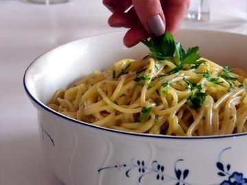 Rezept Schnell kochen mit One Pot Pasta Käse Knoblauch