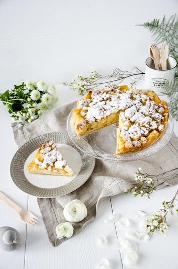 Rezept Schnelle Apfel-Streusel-Torte