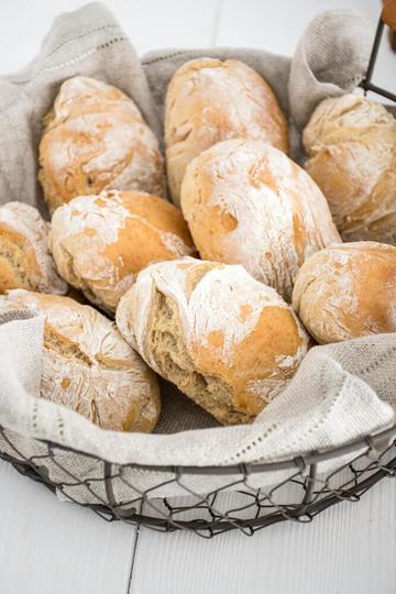 Rezept Schnelle Dinkel-Brötchen
