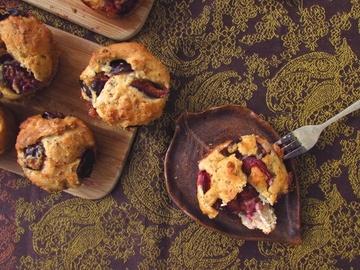 Rezept Schnelle Pflaumen-Chia-Muffins