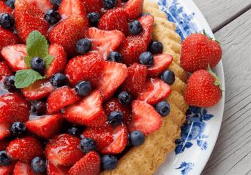 Rezept Schneller Obstboden mit Erdbeeren