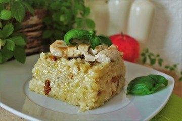 Rezept Schnelles Apfel-Pilz-Risotto^