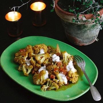 Rezept Schnelles Blumenkohl-Bhaji nach Madhur Jaffrey