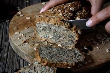 Rezept Schnelles Brot mit Kernen & Samen