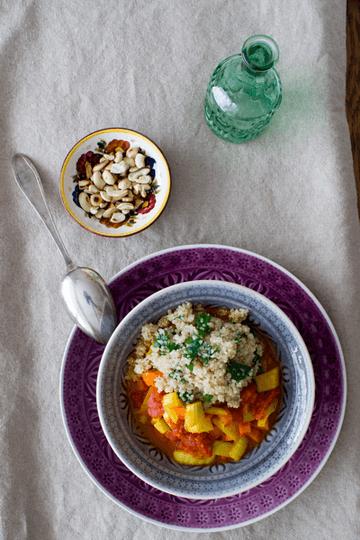 Rezept Schnelles Gemüse-Curry