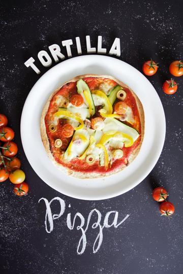 Rezept Schnellste Pizza der Welt