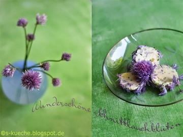 Rezept Schnittlauchblüten-Butter