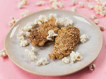 Rezept Schnitzel mit Popcorn-Panade