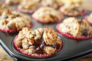 Rezept Schoko-Bananen-Muffins (glutenfrei)