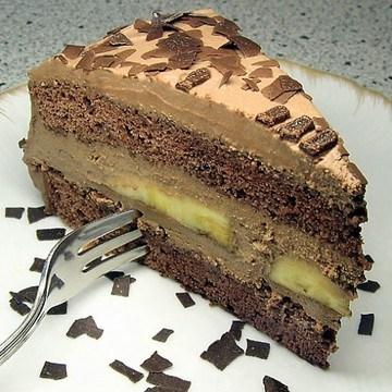 Rezept Schoko-Bananen-Torte