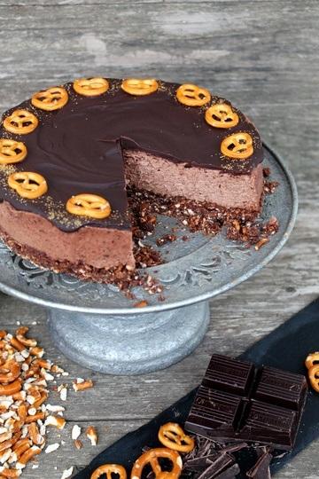 Rezept Schoko-Brezel-Cheesecake