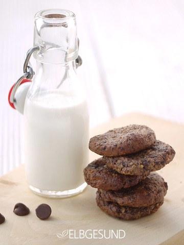 Rezept Schoko-Cookies mit gutem Gewissen naschen!